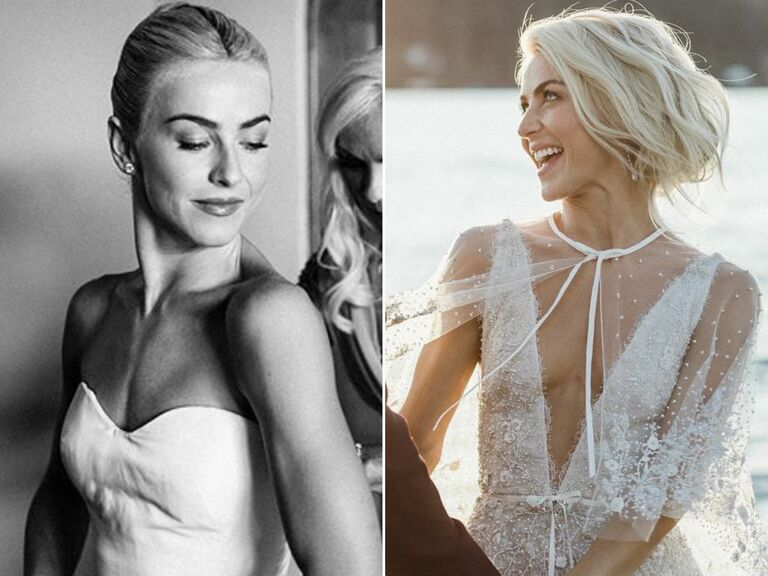 Julianne Hough second wedding hairstyle