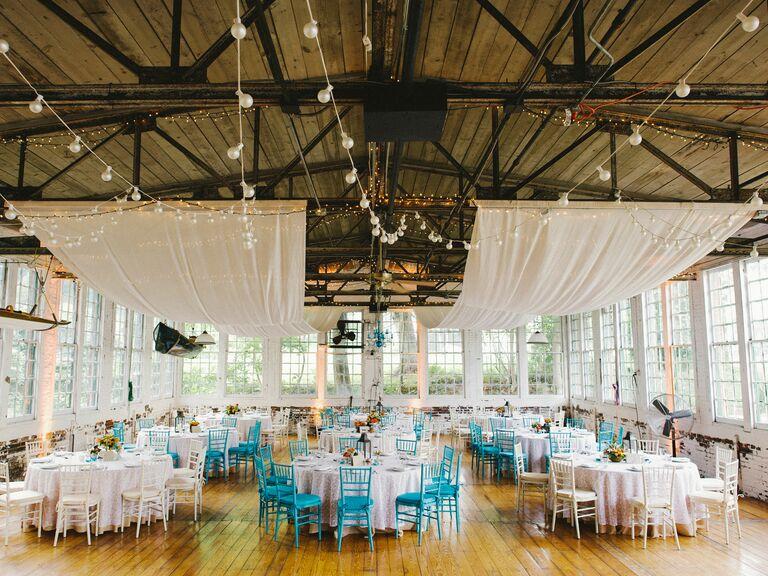 lace factory wedding reception