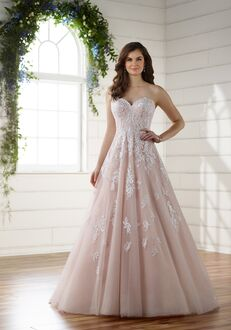 Essense of Australia D2218 A-Line Wedding Dress