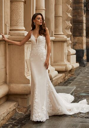 Moonlight Collection J6812 Mermaid Wedding Dress