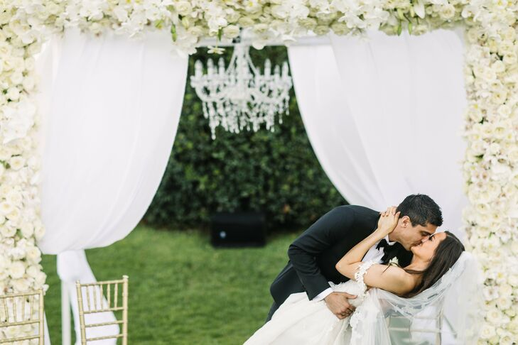 Silje Glenne (26 and a wedding planner and designer) and Tommy Szabo (31 and a director of sales and retention) planned an intimate Italian affair wit