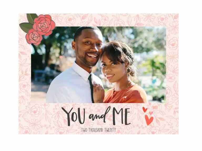 photo album engagement gift for couple