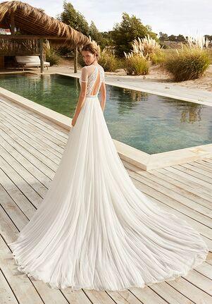 Aire Barcelona VEDA Sheath Wedding Dress