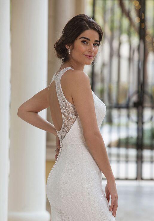 Sincerity Bridal 44096 Sheath Wedding Dress