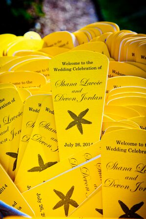 Canary Yellow Programs With Starfish