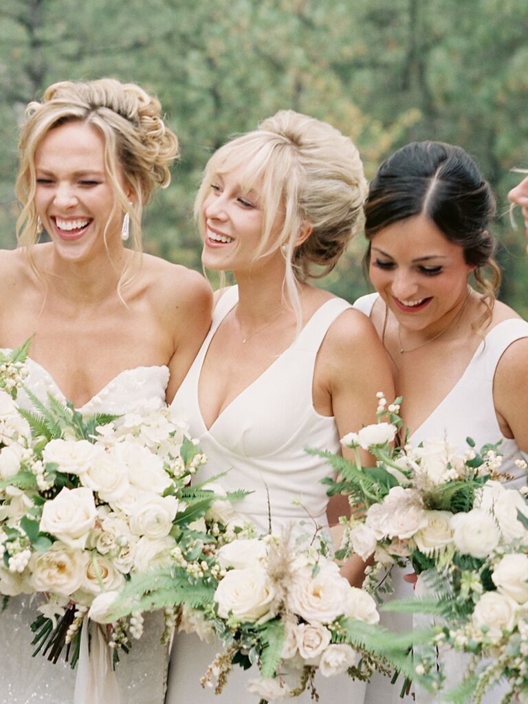 18 boho bridesmaid hairstyles