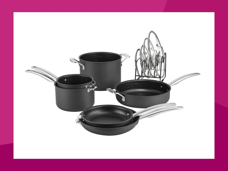 Cuisinart SmartNest nonstick 11-piece set