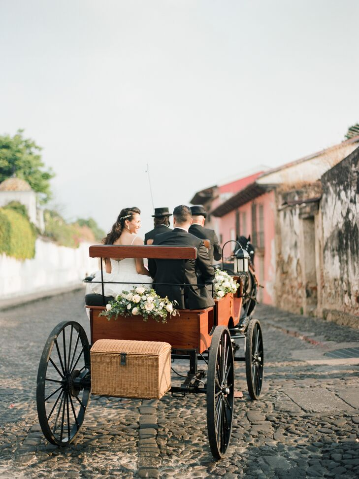 Vintage Horse-Drawn Carriage