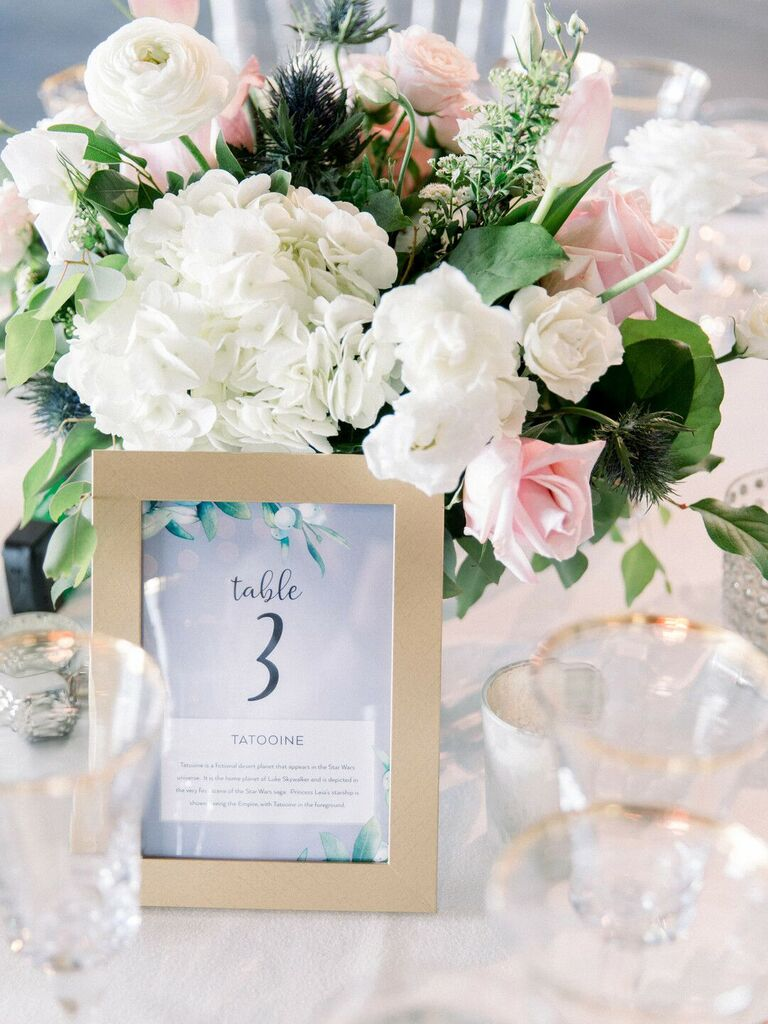 spring wedding centerpieces white hydrangeas and pink roses