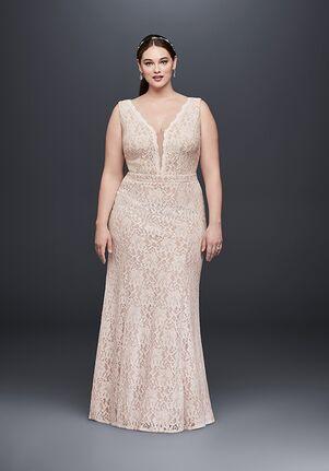 David's Bridal DB Studio Style XS8491W Sheath Wedding Dress
