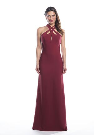 Bari Jay Bridesmaids 2074 Halter Bridesmaid Dress