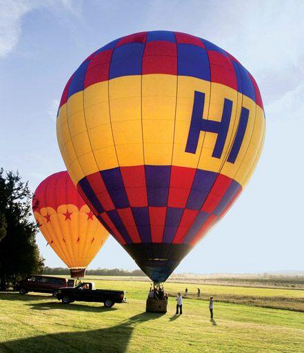 hot air balloons wedding transportation