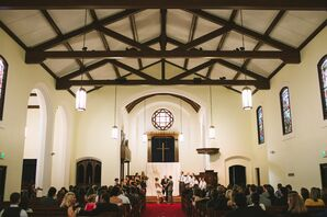 Megan and Ray's The North Chapel Ceremony