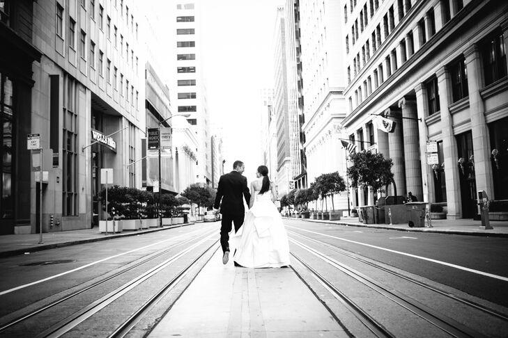Walking in Urban Streets of San Francisco