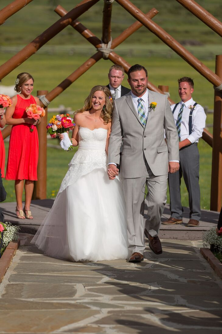 Katie and Haydn  Recessional