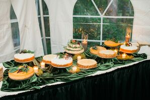Wedding Cheesecake Display