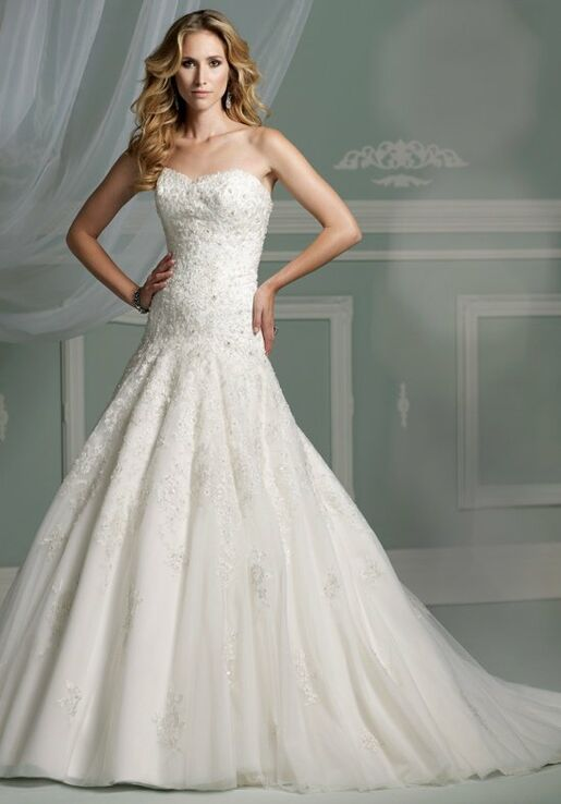 James Clifford Collection J11307 Wedding Dress - The Knot