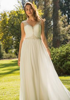 Pallas Athena PA9312 A-Line Wedding Dress