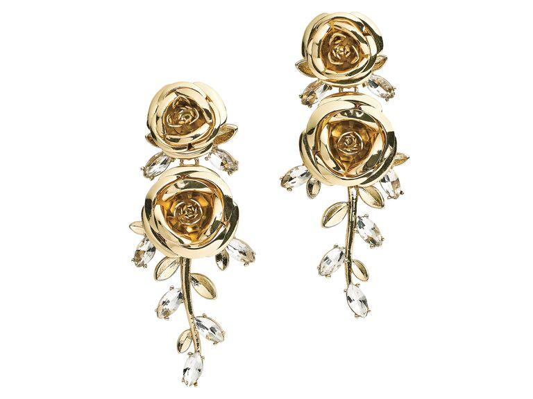 Floral drop earrings Kate Spade