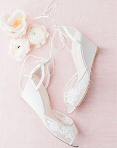 Bella Belle PAMELA Ivory Shoe