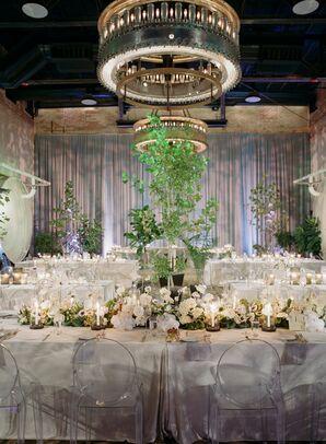 Secret Garden Reception at Hotel Emma in San Antonio, Texas