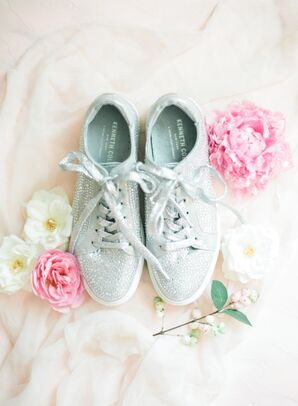 Sparkly Bridal Sneakers
