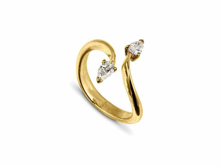 Jessie Thomas two stone ring