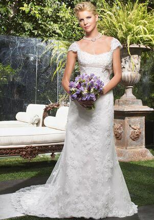 Casablanca Bridal 1942 Mermaid Wedding Dress