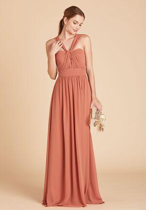 Birdy Grey Grace Convertible Dress in Terracotta Strapless Bridesmaid Dress