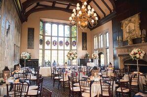 Historic Library Reception at Pine Knob Mansion