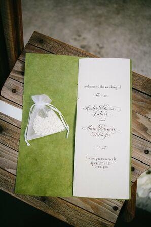 Ceremony Program Booklet