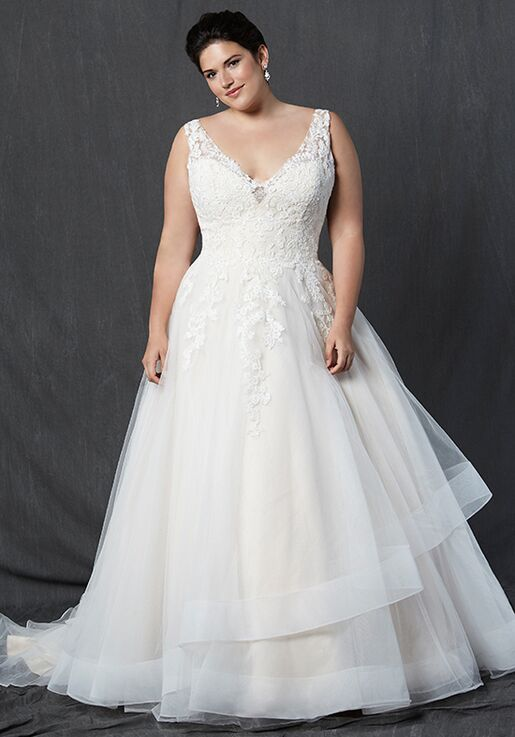 Michelle Roth For Kleinfeld Topazxs A Line Wedding Dress