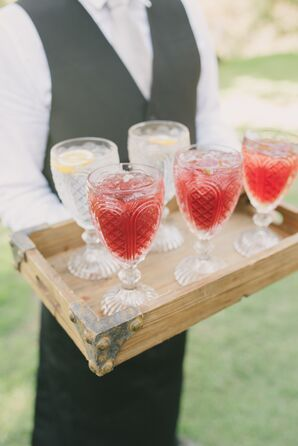 Elegant, Rustic Outdoor Cocktail Hour