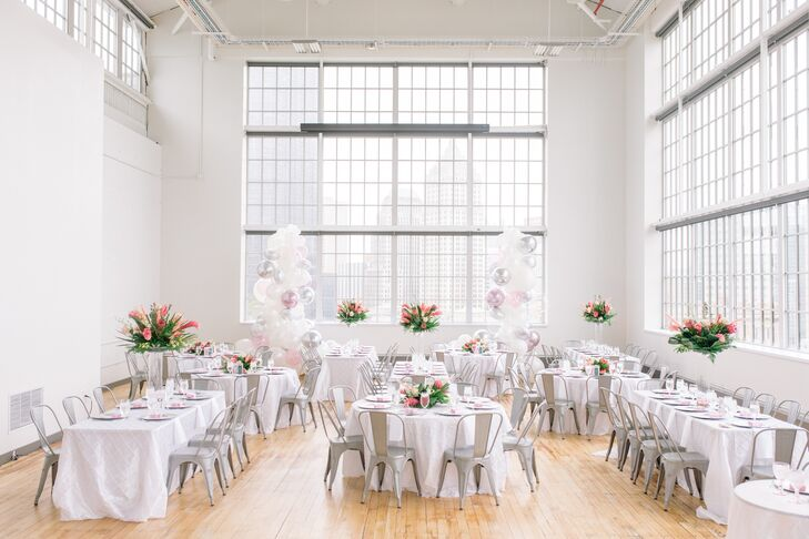 Elegant and Urban Reception at the Energy Innovation Center in Pittsburgh, Pennsylvania