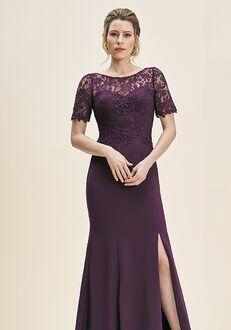 Jade J195061 Purple Mother Of The Bride Dress