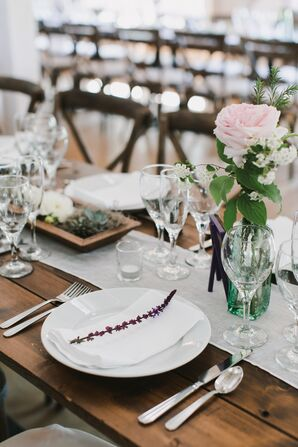 Lavender Place Setting Accents