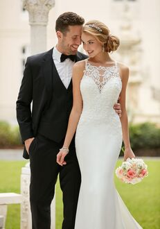 Stella York 6404 Sheath Wedding Dress