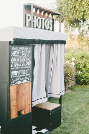 Vintage-Inspired Photo Booth