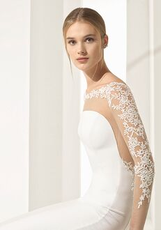 Rosa Clara Couture parma Sheath Wedding Dress