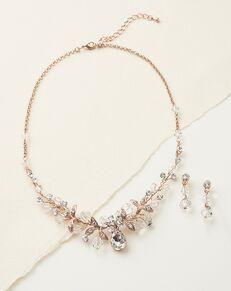 Dareth Colburn Athena Swarovski Crystal Jewelry Set (JS-1623) Wedding Necklace photo