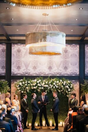 Same-Sex Wedding Ceremony at the Hotel Van Zandt in Austin, Texas