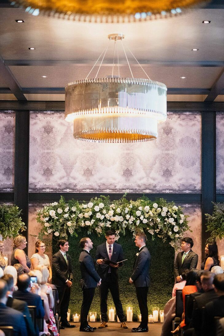 Same-Sex Wedding Ceremony at the Hotel Van Zandt in Austin, Texas