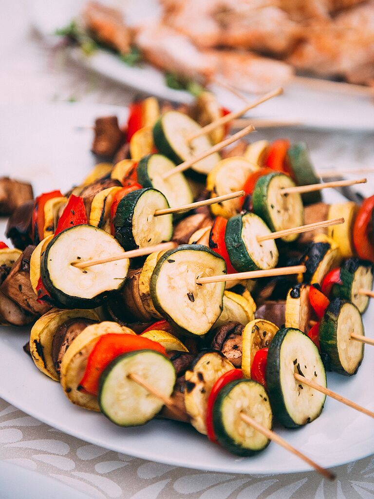 Veggie and Meat Skewers