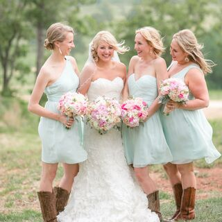 A Ranch-Inspired At-Home Wedding in Houston