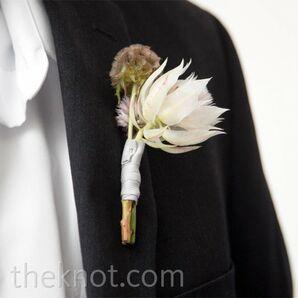 Romantic Floral Boutonnieres