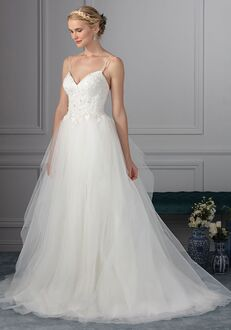 Beloved by Casablanca Bridal BL235 Periwinkle Ball Gown Wedding Dress
