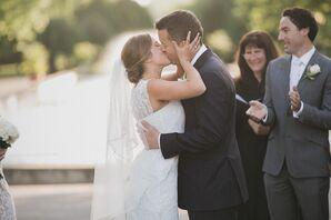 First Kiss by the Fountain in Fairmount Park