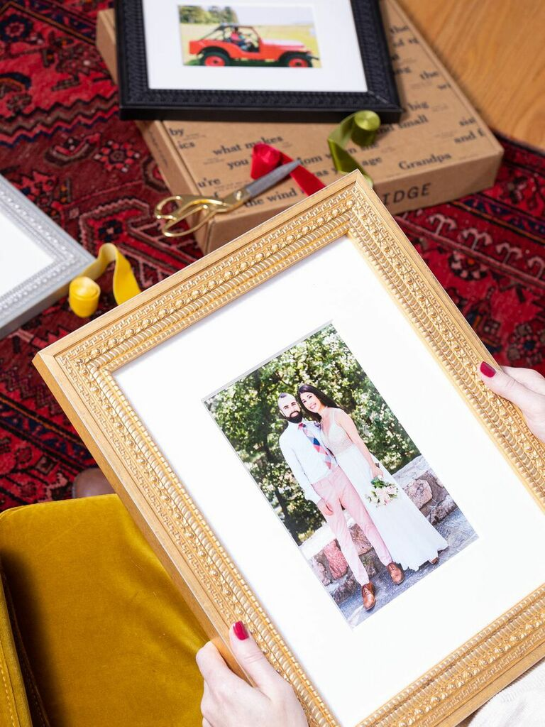 framed picture romantic gift for wife