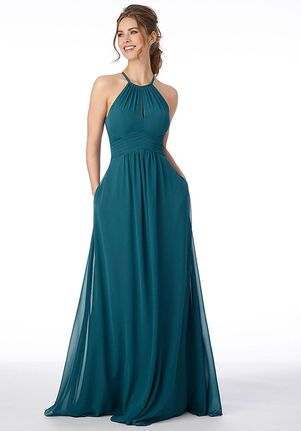 Morilee by Madeline Gardner Bridesmaids 21695 - Morilee by Madeline Gardner Bridesmaids Halter Bridesmaid Dress