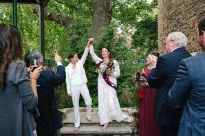 Brides Celebrating Postceremony